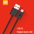 Original xiaomi cable 2A Micro USB TYPE-C TYPE C fast charging sync data cable for xiaomi 2 2s 3 4s Redmi 3X 4X Note 2 3 4 4X