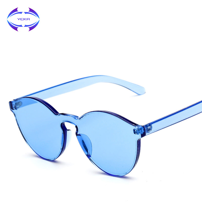 Clear Rimless High Quality SunGlasses