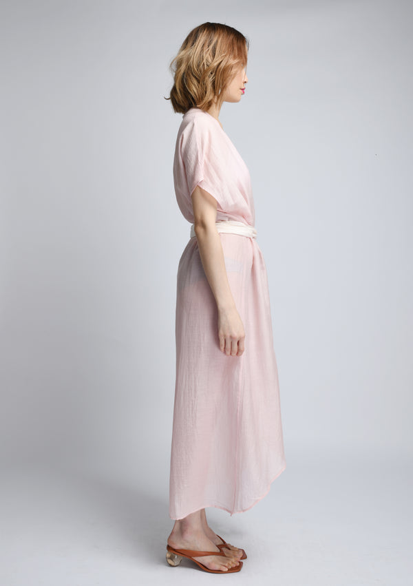 AKOSÉE Kimono in Pink Ombre