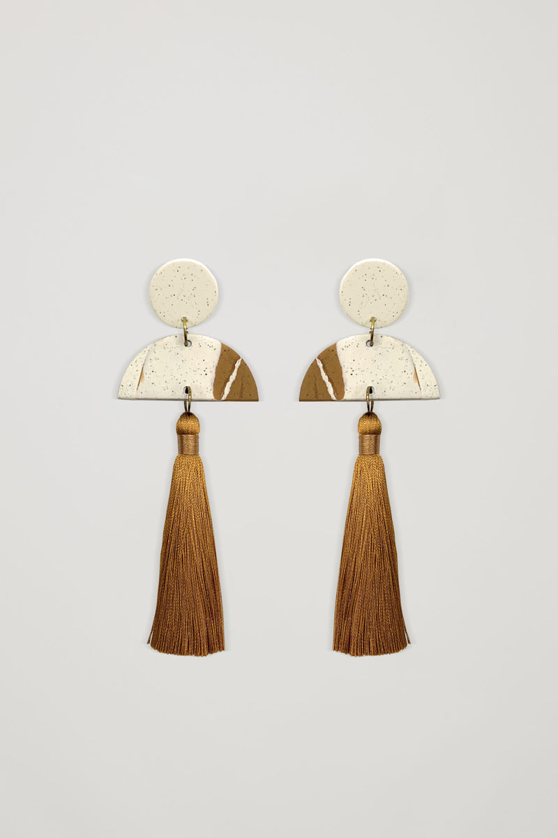 AKOSÉE x Yindi Tassel Drop Earrings