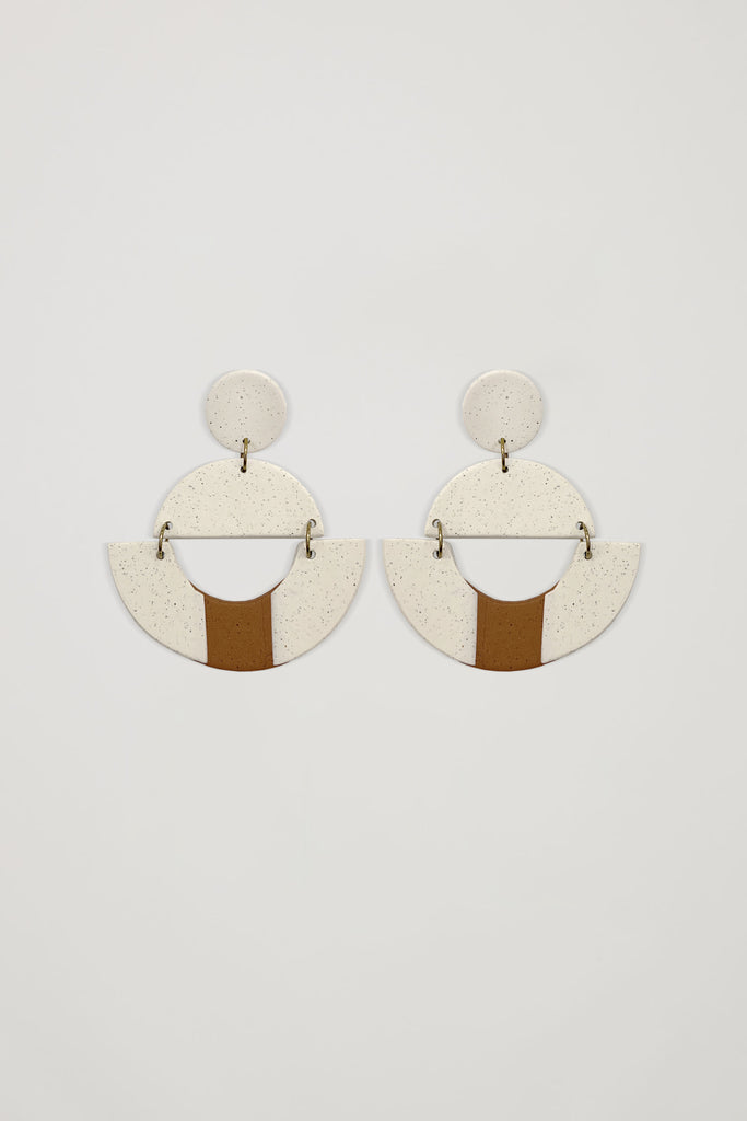 AKOSÉE x Yindi Geometric Oversized Earrings