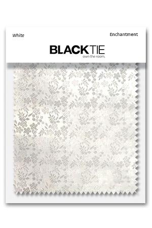 White Enchantment Fabric Swatch