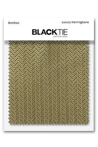 Bamboo Herringbone Fabric Swatch