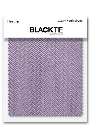 Heather Herringbone Fabric Swatch