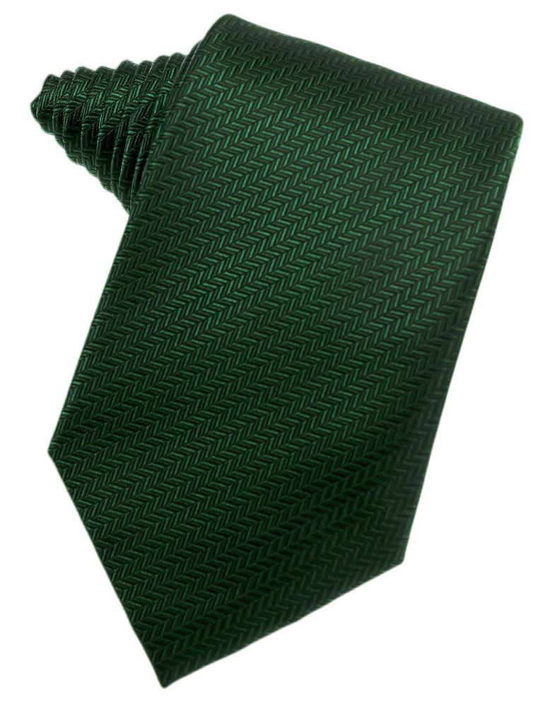 Hunter Herringbone Necktie