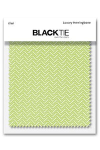 Kiwi Herringbone Fabric Swatch