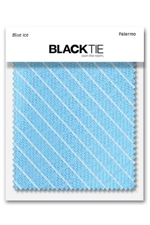 Blue Ice Palermo Fabric Swatch