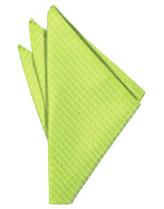 Lime Palermo Pocket Square