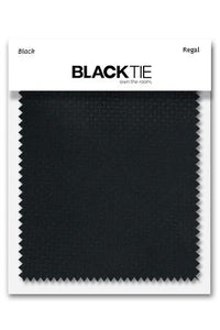 Black Regal Fabric Swatch