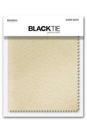 Bamboo Luxury Satin Fabric Swatch