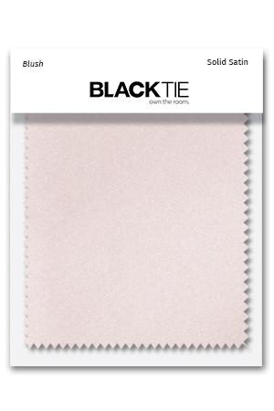 Blush Luxury Satin Fabric Swatch