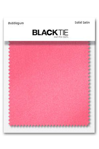 Bubblegum Luxury Satin Fabric Swatch