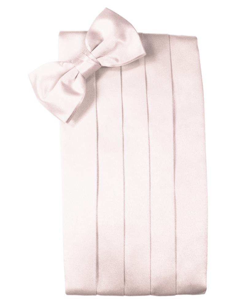 Blush Luxury Satin Cummerbund