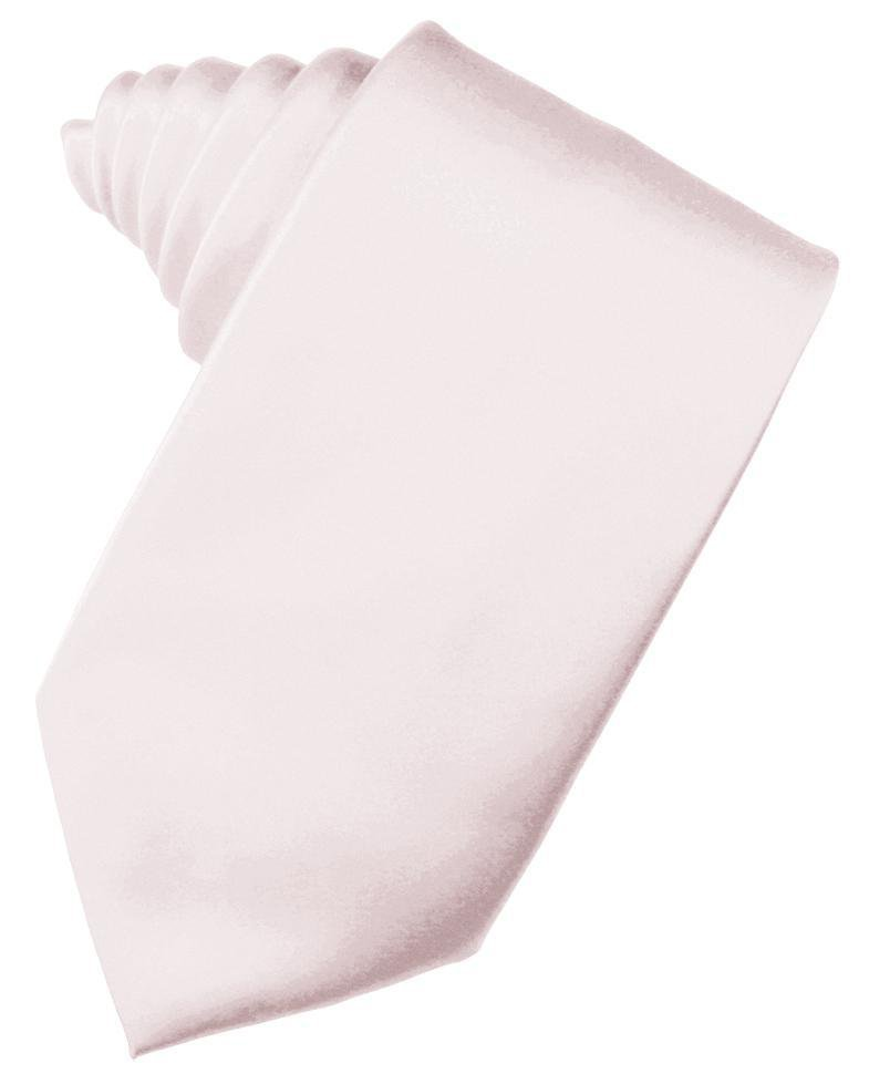 Blush Luxury Satin Necktie