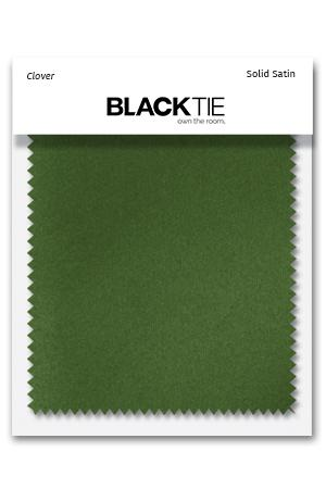 Clover Luxury Satin Fabric Swatch