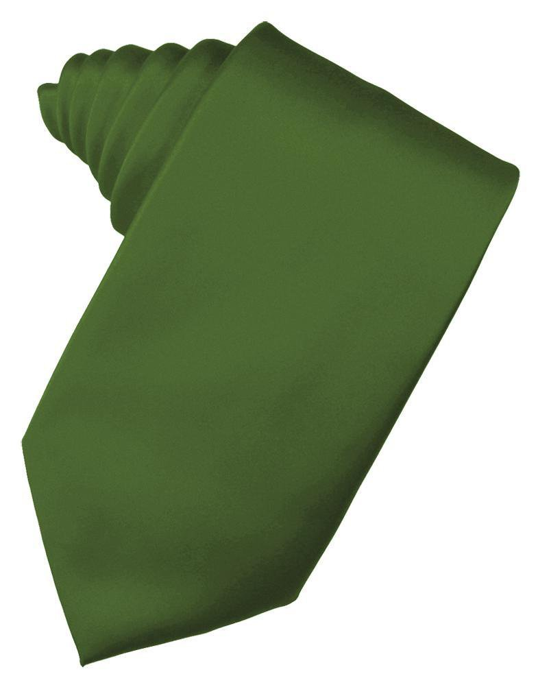 Clover Luxury Satin Necktie