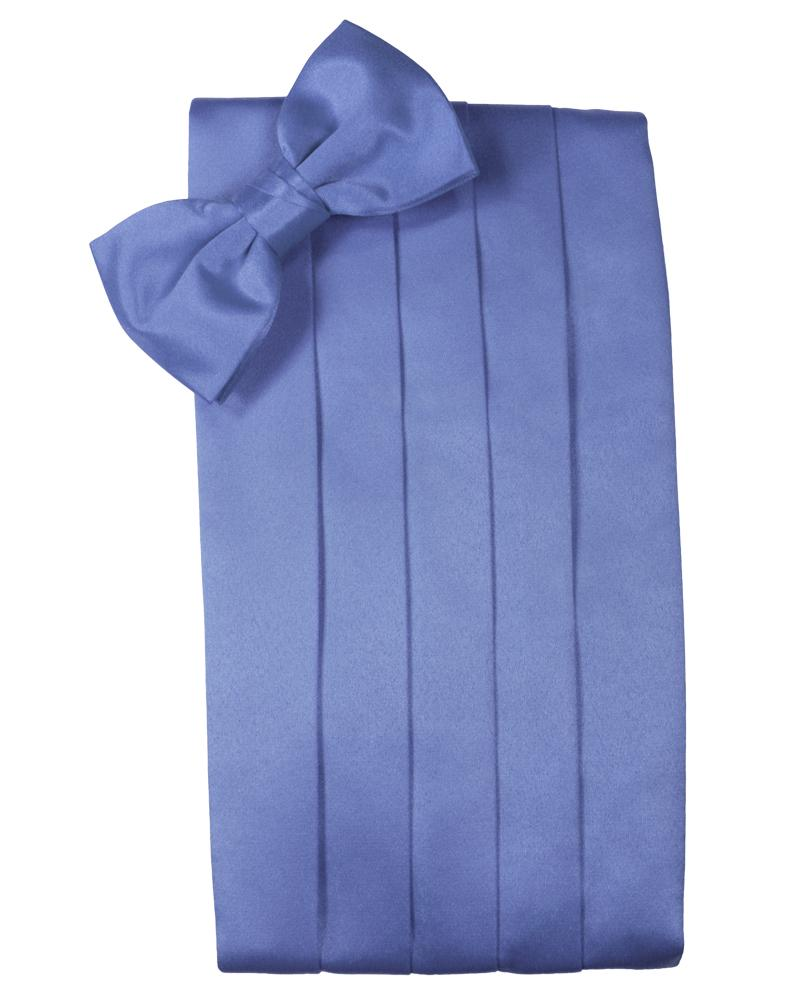 Cornflower Luxury Satin Cummerbund