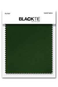 Hunter Luxury Satin Fabric Swatch