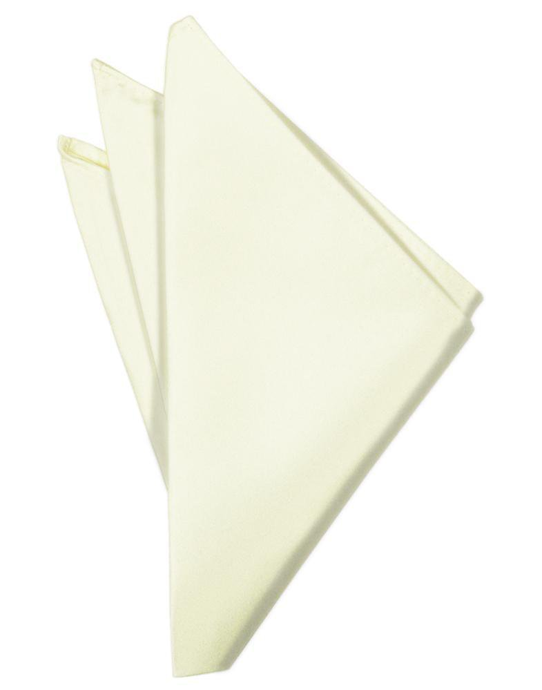Ivory Luxury Satin Pocket Square
