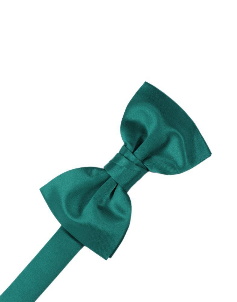 Jade Luxury Satin Bow Tie