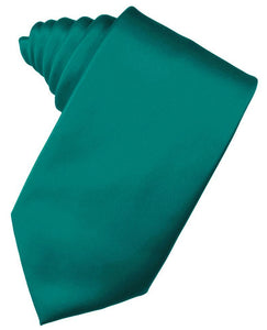 Jade Luxury Satin Necktie