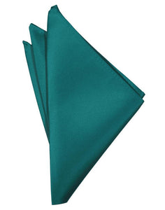 Jade Luxury Satin Pocket Square