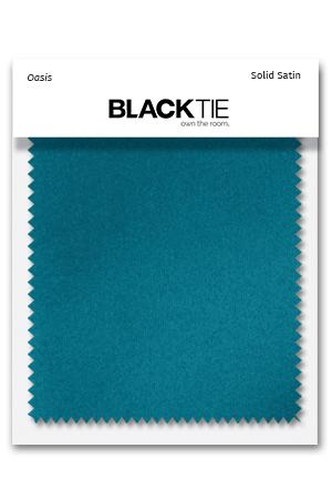 Oasis Luxury Satin Fabric Swatch
