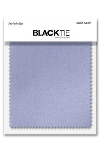 Periwinkle Luxury Satin Fabric Swatch