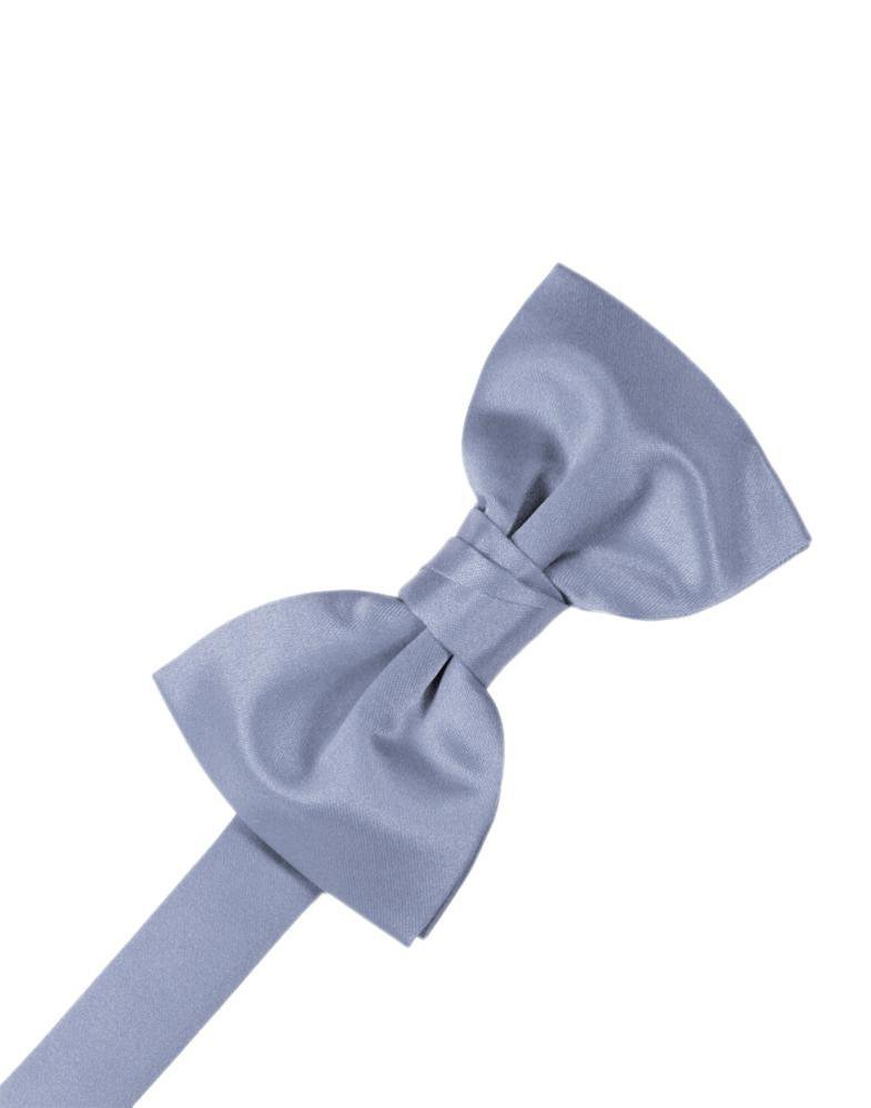 Periwinkle Luxury Satin Bow Tie