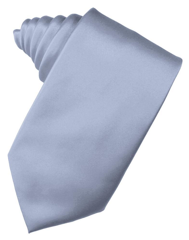 Periwinkle Luxury Satin Necktie