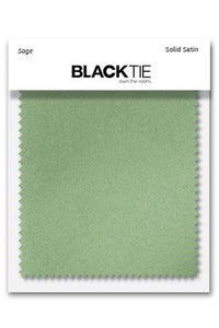 Sage Luxury Satin Fabric Swatch