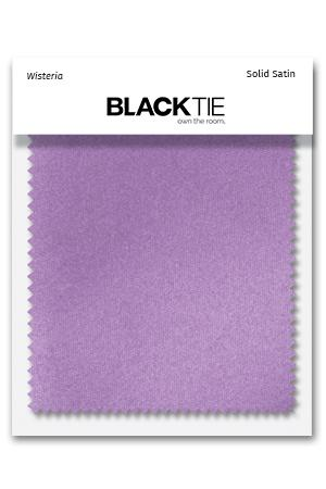 Wisteria Luxury Satin Fabric Swatch