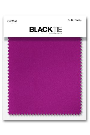 Fuchsia Luxury Satin Fabric Swatch