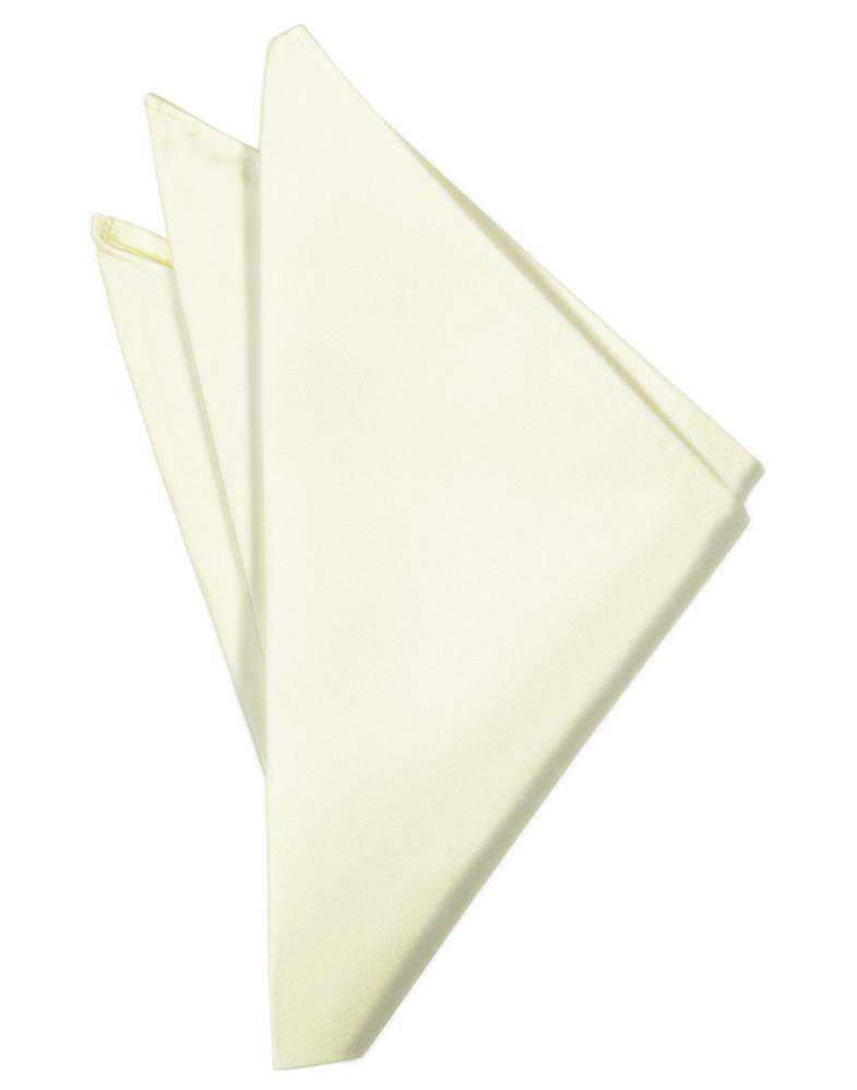 Ivory Noble Silk Pocket Square