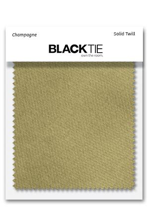 Champagne Solid Twill Fabric Swatch