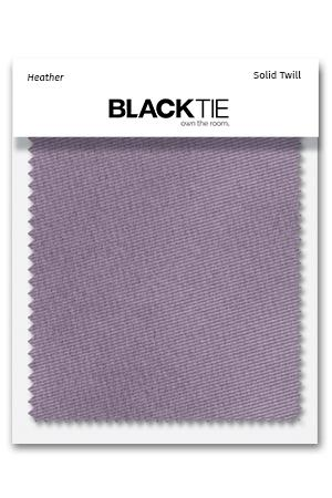 Heather Solid Twill Fabric Swatch