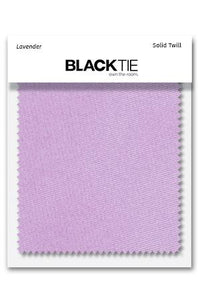 Lavender Solid Twill Fabric Swatch