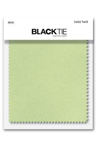 Mint Solid Twill Fabric Swatch
