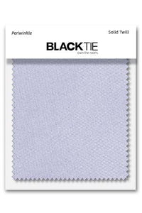 Periwinkle Solid Twill Fabric Swatch