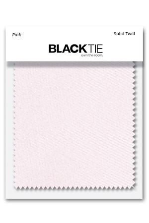 Pink Solid Twill Fabric Swatch