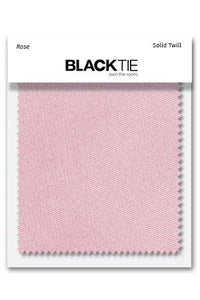 Rose Solid Twill Fabric Swatch