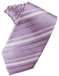 Heather Striped Satin Necktie