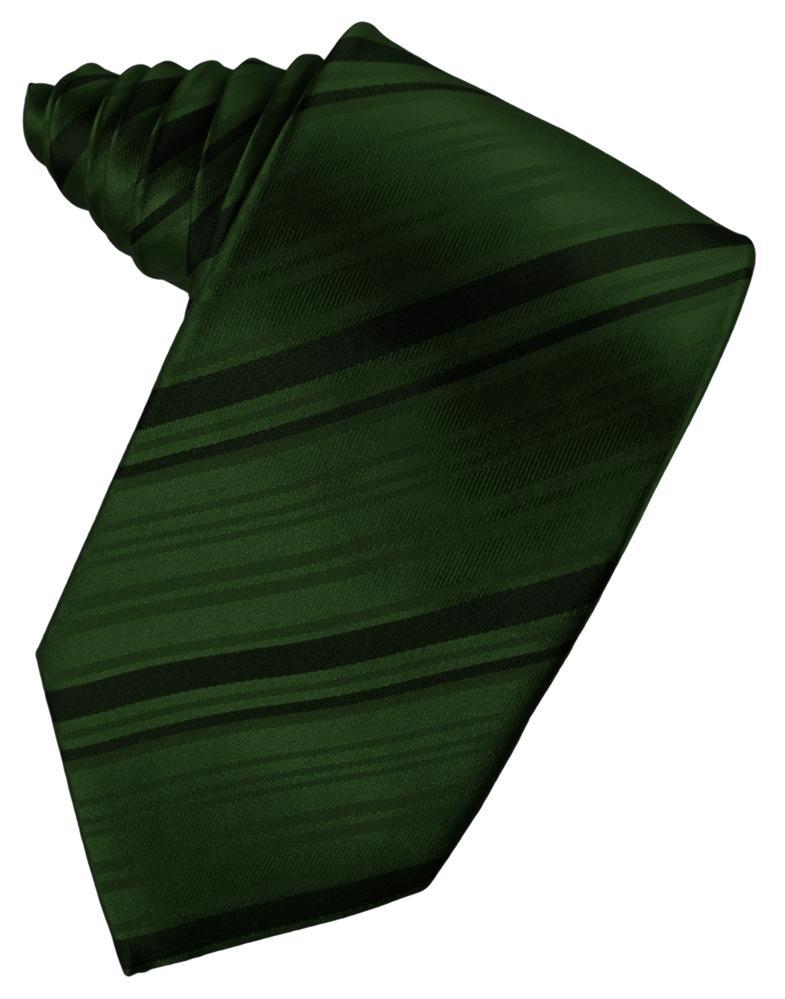 Holly Striped Satin Necktie