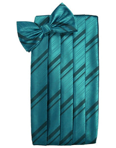 Oasis Striped Satin Cummerbund