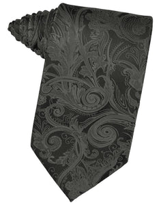 Charcoal Tapestry Necktie