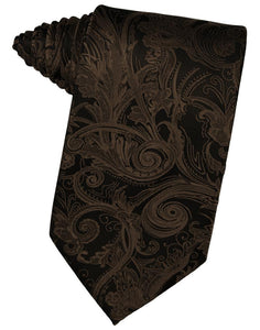 Chocolate Tapestry Necktie