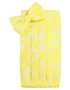 Lemon Tapestry Cummerbund