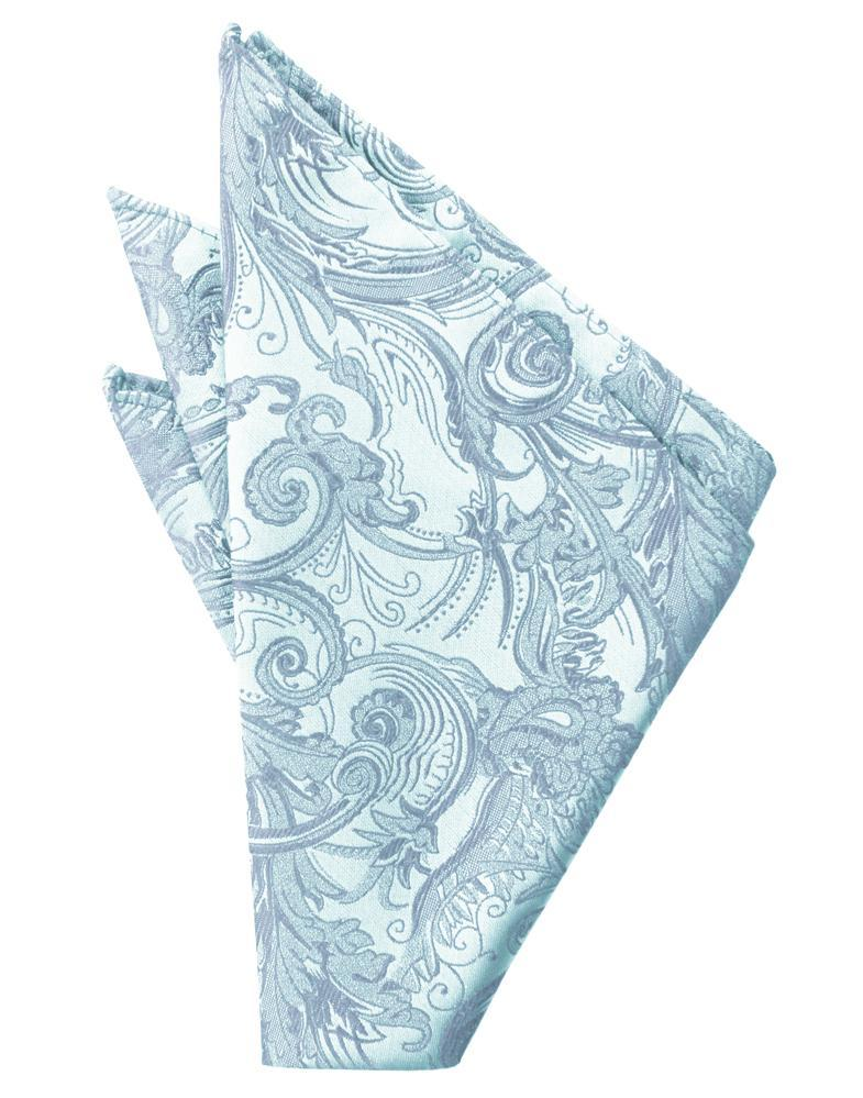 Light Blue Tapestry Pocket Square