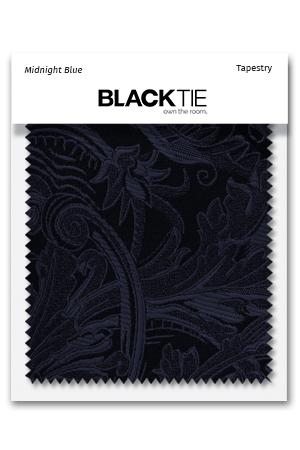 Midnight Tapestry Fabric Swatch