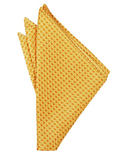 Gold Venetian Pocket Square